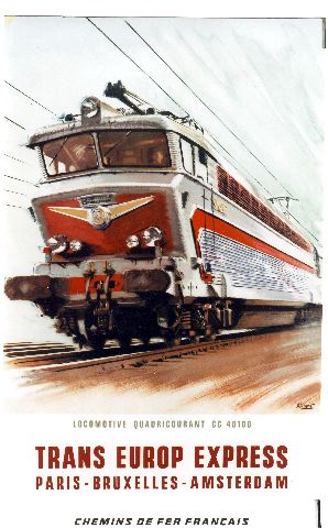 Railway Art Albert Brenet BAGDContext CSM