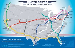 US high speed rail system