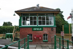 Isfield signal box (real)
