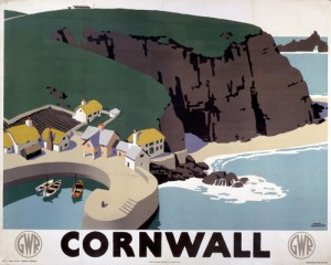 'Cornwall', GWR poster, 1923-1947.