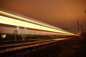 Speeding-Train