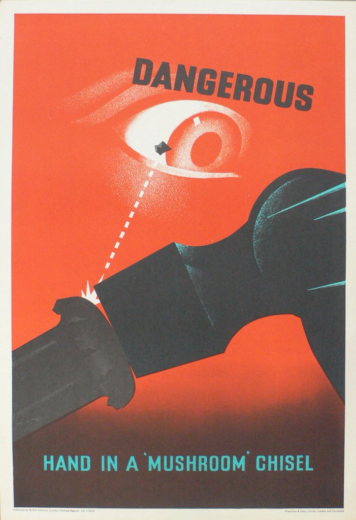 Railway Safety Posters By Leonard Cusden Bagdcontext Csm