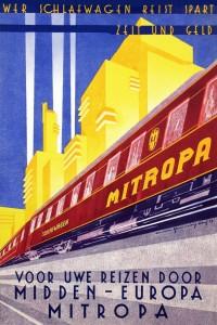 poster-Mitropa-Midden-Europa