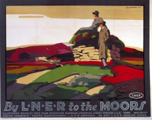 ÔBy LNER to the MoorsÕ, LNER poster, 1923-1947.