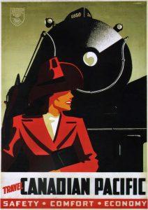 1942canadianpacificcanadianpacificacrosscanadaposterbypetermaxwellewart